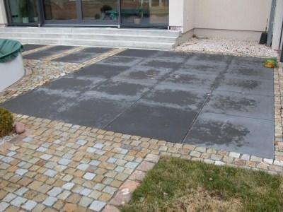BV Crottendorf Granitsteinpflaster und Betonplatten 100x100 cm 3