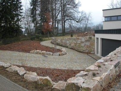 BV Crottendorf Granitsteinpflaster und Betonplatten 100x100 cm 5
