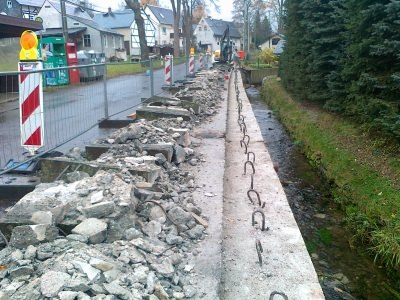Abbrucharbeiten Betonkappensanierung