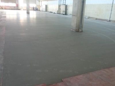 Fußbodenbeton